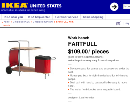 Ikea Namedroppings
