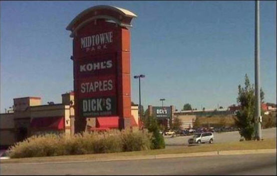 Caution: Laughter ahead Kohls-staples-dicks