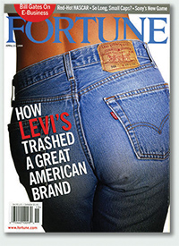 In decline: This Fortune cover appeared before Google was even created